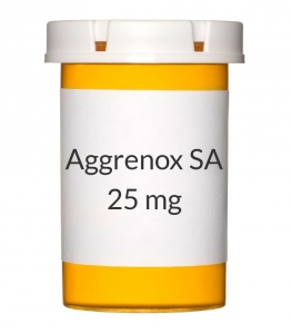 Aggrenox SA 200-25mg Capsules - 60 Count Bottle