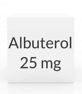 Albuterol 1.25mg/3ml Vial Inhalation Solution (25 X 3ml Vial Box)