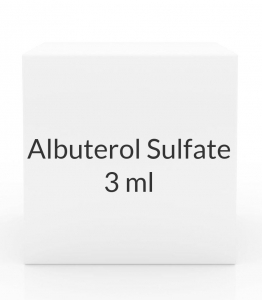 Albuterol Sulfate 0.083% Inhalation Solution (25 x 3 ml Vial Box)