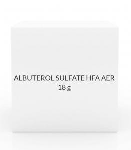 ALBUTEROL SULFATE HFA AER 18G