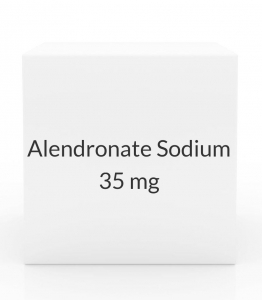 Alendronate Sodium 35mg Tablets (Generic Fosamax) - 4 Tablet Pack