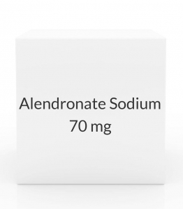 Alendronate Sodium 70mg Tablets (Generic Fosamax) - 4 Tablet Pack
