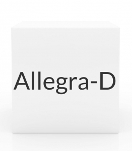 Allegra-D 24 Hour Tablets - 10 Tablet Box (Prescription Only)