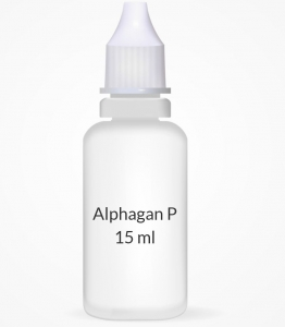 Alphagan P 0.1% Ophthalmic Solution - 15 ml Bottle