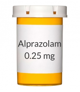 alprazolam 0.25 mg tablet price