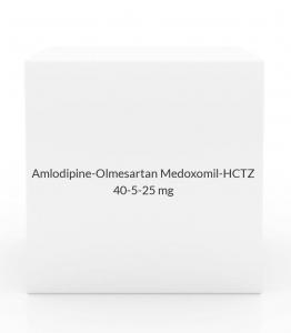 Amlodipine-Olmesartan Medoxomil-HCTZ 40-5-25mg Tablets