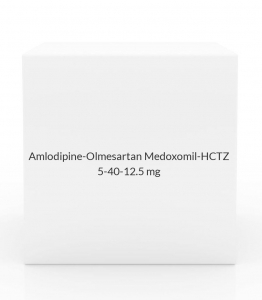 Amlodipine-Olmesartan Medoxomil-HCTZ 5-40-12 5mg Tablets