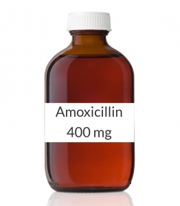 Amoxicillin 400mg/5ml Suspension (75ml Bottle)