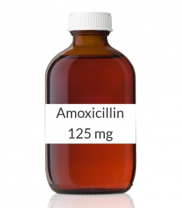 Amoxil 125 mg/ 5 mL comes in a 100 mL bottle (when ...