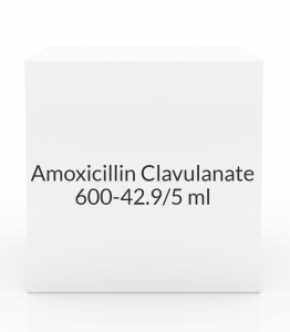 Amoxicillin Clavulanate 600-42.9/5ml- 75ml