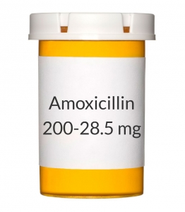 Amoxicillin-Clavulanate 200-28.5mg Chew Tablets