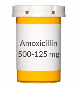 Amoxicillin/Clavulanate 500-125mg Tablets