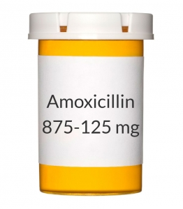 Amoxicillin/Clavulanate 875-125mg Tablets