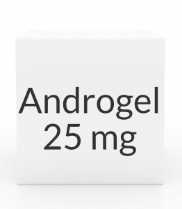 Androgel 1% 25mg/2.5g  Gel Packet- (30 x 2.5g)