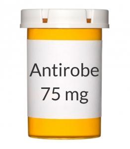 Antirobe 75mg Capsules