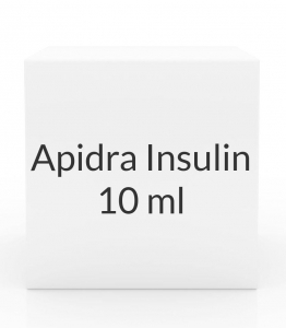 Apidra Insulin 100 Units/ml Solution - 10 ml Vial