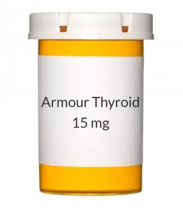 Armour Thyroid 15mg (0.25gr) Tablets