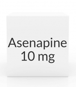 Asenapine 10mg Sublingual Tablets- 60ct Blister Pack