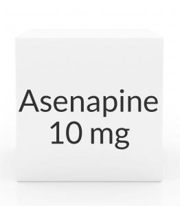 Asenapine (Saphris) 10 mg Sublingual Tablets - Box of 60 (Greenstone)