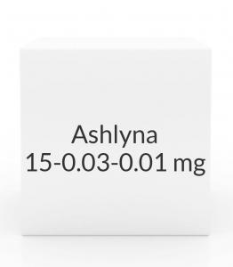 Ashlyna 0.15-0.03-0.01mg Tablets