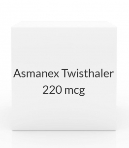 Asmanex Twisthaler 220mcg - 60 Metered Doses