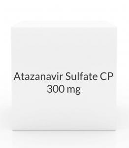 Atazanavir Sulfate CP 300mg - 60 Capsules Bottle