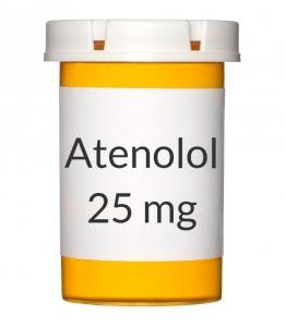 Atenolol 25mg Tablets