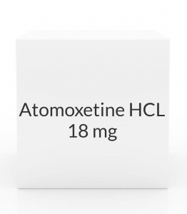 Atomoxetine HCL 18mg Capsules