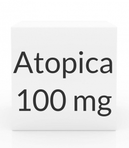 Atopica 100mg Capsules(33 to 64 lbs)-15 Count Box(Blue)
