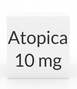 Atopica 10mg Capsules(4 to 6.5 lbs) -15 Count Box(Green)