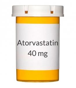 Atorvastatin 40 mg Tablets (Generic Lipitor)