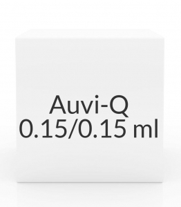 Auvi-Q 0.15/0.15ml Syringe- 2 Pack
