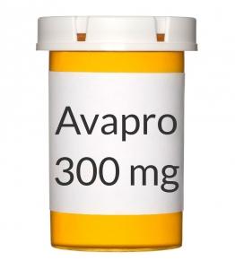 Avapro 300mg Tablets