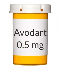 Avodart 0.5mg Softgels