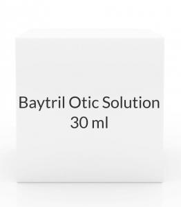 Baytril Otic Solution (30ml Vial)