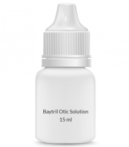 Baytril Otic Solution (15ml Vial)