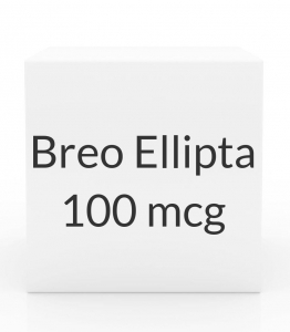 Breo Ellipta 100mcg/25mcg  Inhaler (60 Blisters)