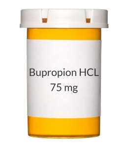 Bupropion HCL 75mg Tablets (Generic Wellbutrin)