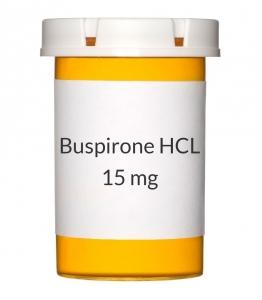 Buspirone HCL 15mg Tablets (Generic Buspar)