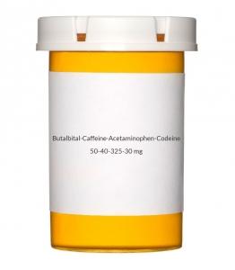 Butalbital-Caffeine-Acetaminophen-Codeine 50-40-325-30mg Capsules