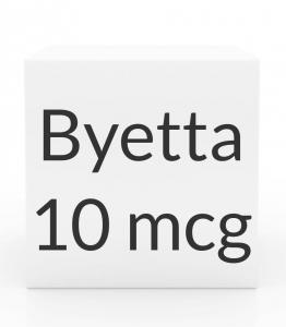 Byetta 10 mcg/ 0.04 ml Pen Injection -2.4 ml Pen Cartridge