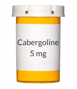 Cabergoline 0.5mg 8 Tablet Bottle