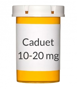 Caduet 10-20mg Tablets