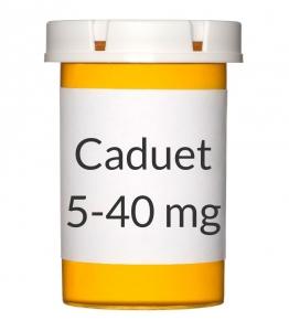 Caduet 5-40mg Tablets