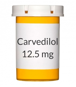 Carvedilol 12.5mg Tablets