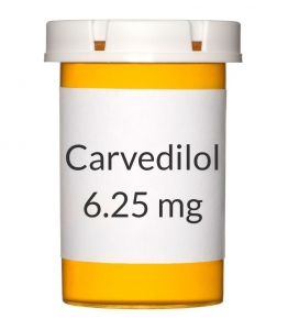 Carvedilol 6.25mg Tablets