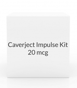 Caverject Impulse Kit 20 mcg - Pack of 2