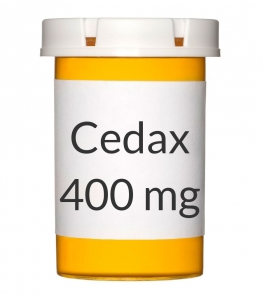 Cedax 400mg Capsules - 20 Count Bottle