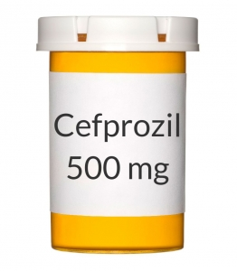 Cefprozil 500mg Tablets (Generic Cefzil)