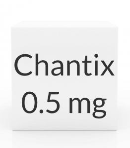 Chantix 0.5mg Tablets - 56 Tablet Pack